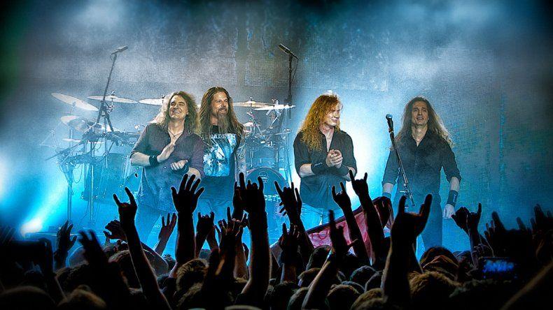 Mandanos un video y ganate una entrada para ver a Megadeth en Neuquén