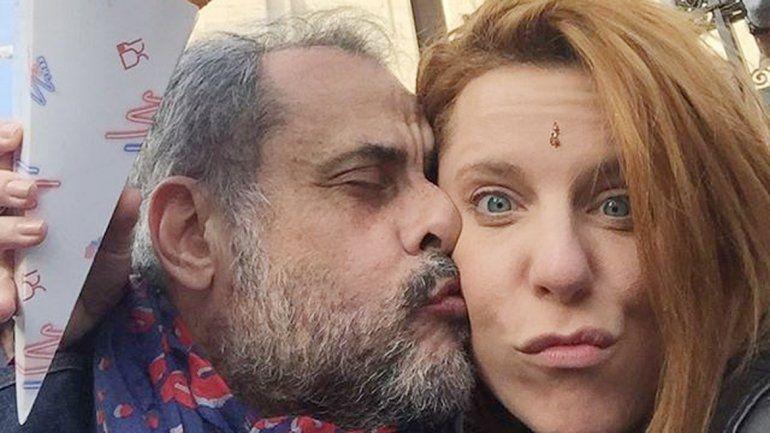 Jorge Rial y Agustina Kämpfer.