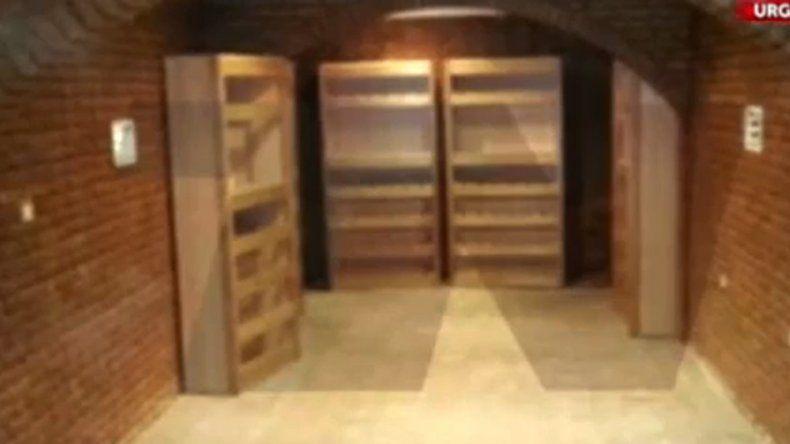 Encontraron una bóveda en una de las fincas de Lázaro Báez.