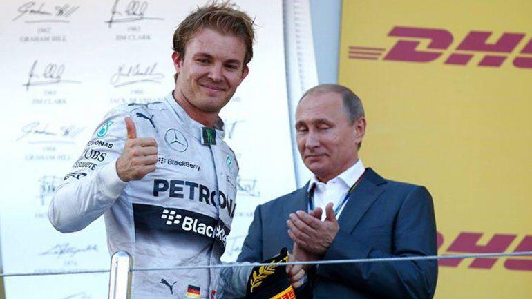 El imbatible Rosberg logró en Rusia su cuarta victoria del año