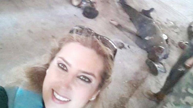 La periodista siria
