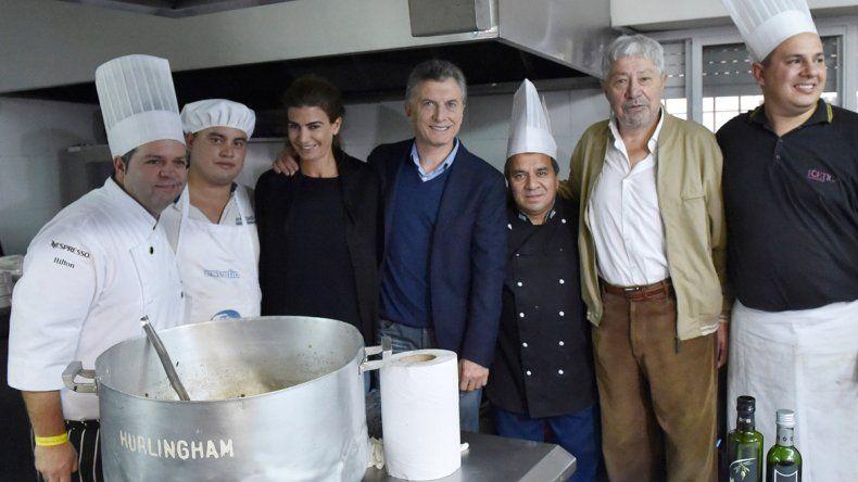 El Presidente participó ayer del Día del Trabajador en la sede de la Uthgra.