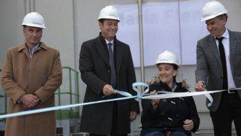 Michetti inauguró una turbina de gas y confía en más inversiones energéticas