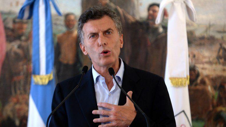 Macri: Lo que hemos prometido se hace realidad
