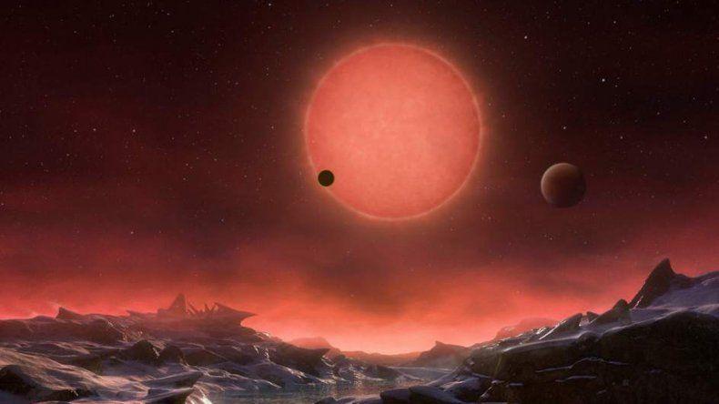 Descubren tres planetas con características parecidas a la Tierra