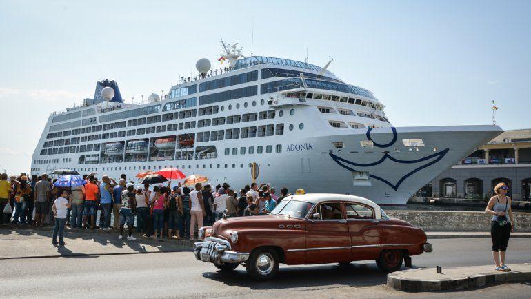 Llegó a La Habana el primer crucero de Estados Unidos