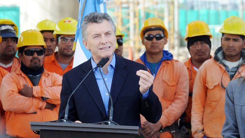 El Presidente apuntó contra la manifestación sindical del viernes.