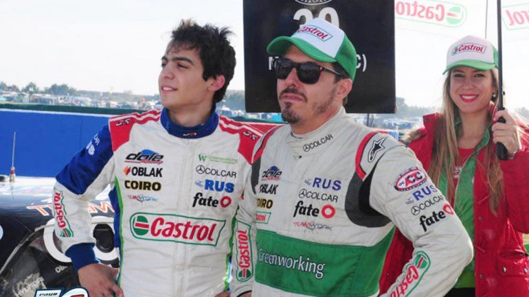 Nefa dio 50 giros en los 500 kilómetros de Olavarría y le entregó el auto en la posición 12 a Mazzacane