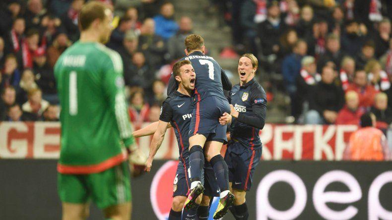 Antoine Griezmann metió el gol del empate.