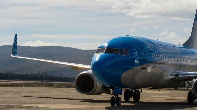 Aerolíneas inaugura nueva tecnología en sus vuelos a Chapelco