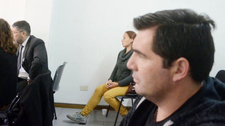 Ángela Garro y su ex