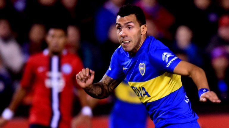Carlitos Tevez fue clave en la ida en Paraguay y hoy será el referente del ataque xeneize.