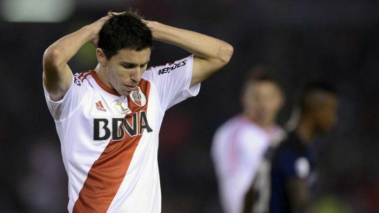 La decepción embargó al Millonario al final del partido en el que merecieron mejor suerte.