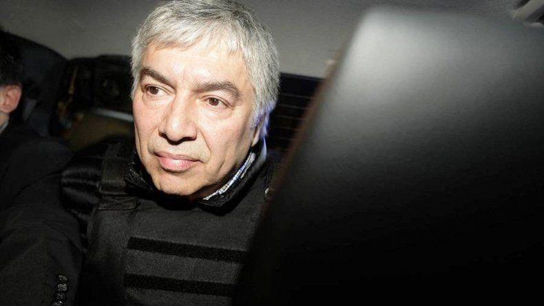 Lázaro Báez cumplió ayer un mes detenido.
