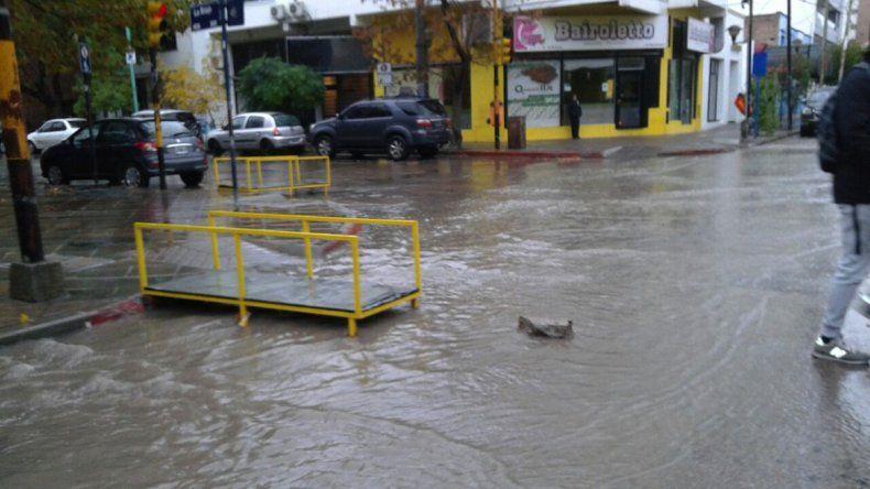 Las lluvias persistirán en la ciudad hasta el sábado.