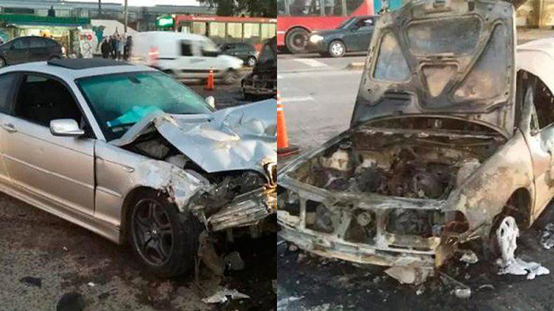 Se había filmado a 270 km/h y ahora mató a un hombre con su auto