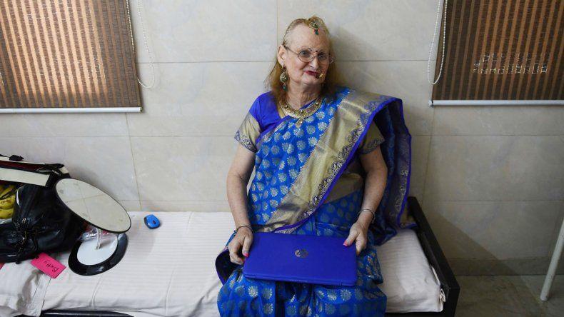 Dale Archer se operó en la India y ahora es Betty Ann Archer.