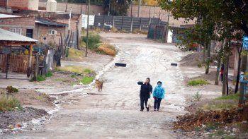 Las precipitaciones no fueron muy intensas, pero igual se inundaron calles y muchos la pasaron mal.