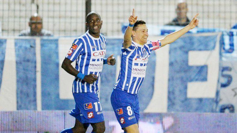 El elenco mendocino le sacó 3 puntos a San Lorenzo.