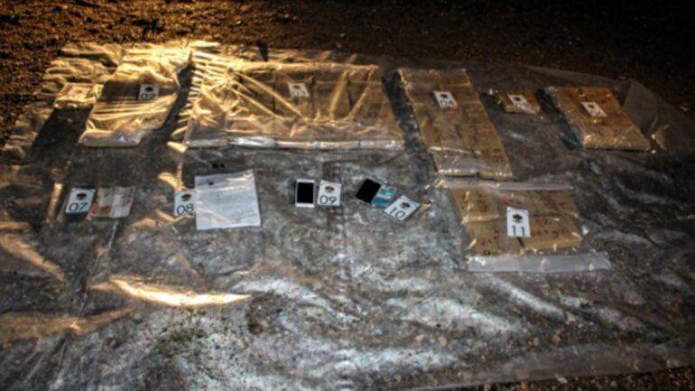 Detuvieron a dos personas con 40 kilos de marihuana con destino a Chile