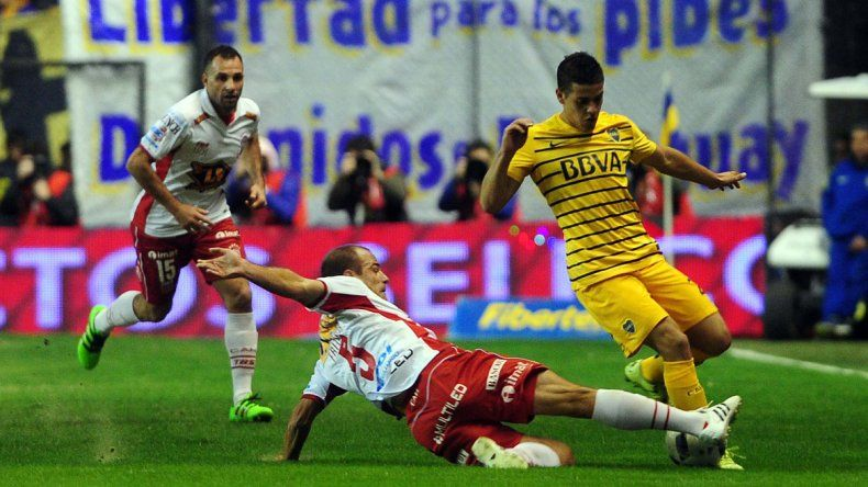 Con suplentes, Boca empató con Huracán en La Bombonera