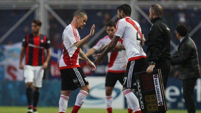 En la derrota ante San Lorenzo