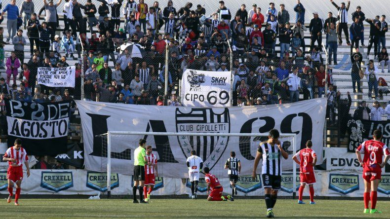 Se bajó la persiana. Cipolletti le dijo adiós al torneo con un triunfo en el clásico. Fue 3 a 1 ante Independiente