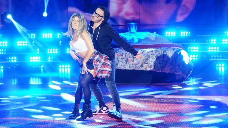 Fernández fue pareja de baile de Fede durante el Bailando 2015.