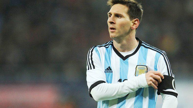 El astro argentino quiere un título con la Selección mayor.