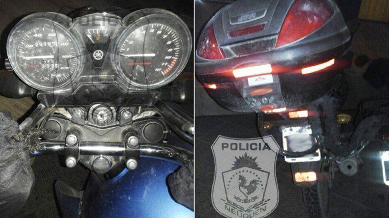 Atraparon en Provincias Unidas a un joven con una moto robada.