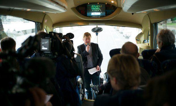 El tour de la corrupción expone lo peor de Londres