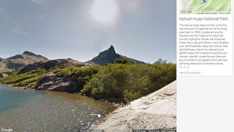 Los Parques Nacionales argentinos llegan al Street View