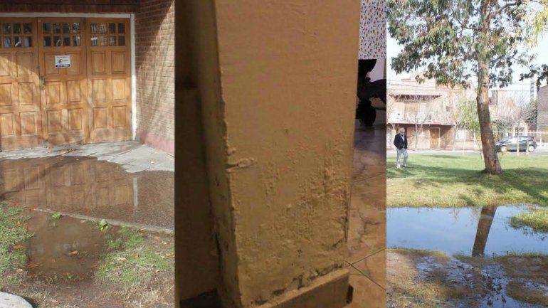 El Colegio de Ingenieros advirtió del río en Santa Genoveva en 2016