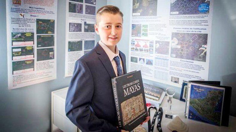 El pequeño William Gadoury hizo el descubrimiento.