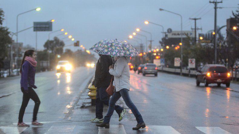 Alerta por lluvia y tormenta de granizo para esta noche