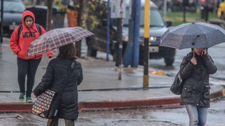 Lloverá al menos hasta el miércoles en el Alto Valle