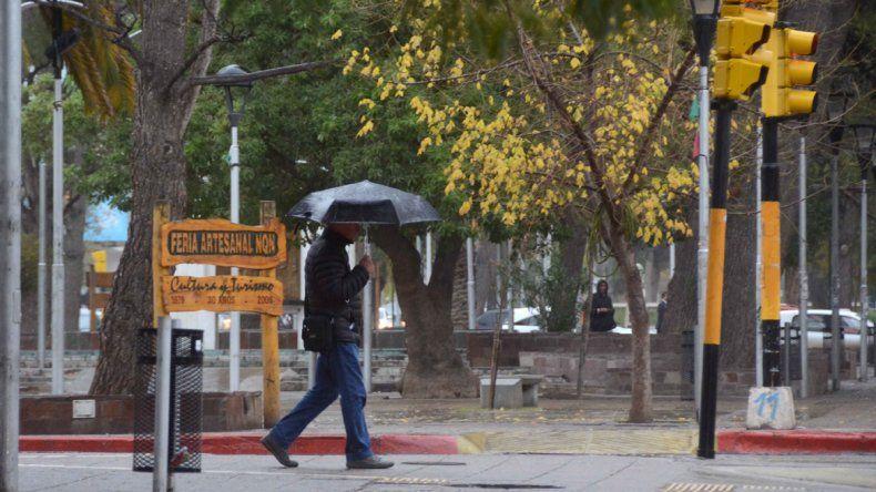 Alerta por lluvias fuertes en Neuquén, Río Negro y Chubut