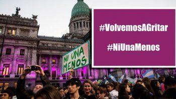 {alttext(,#NiUnaMenos se reagrupa bajo la campaña #VolvemosAGritar)}