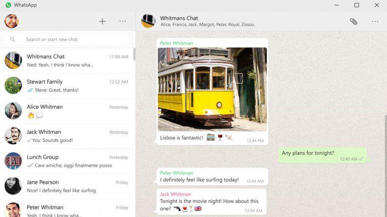 WhatsApp estrena aplicación para utilizar en la computadora