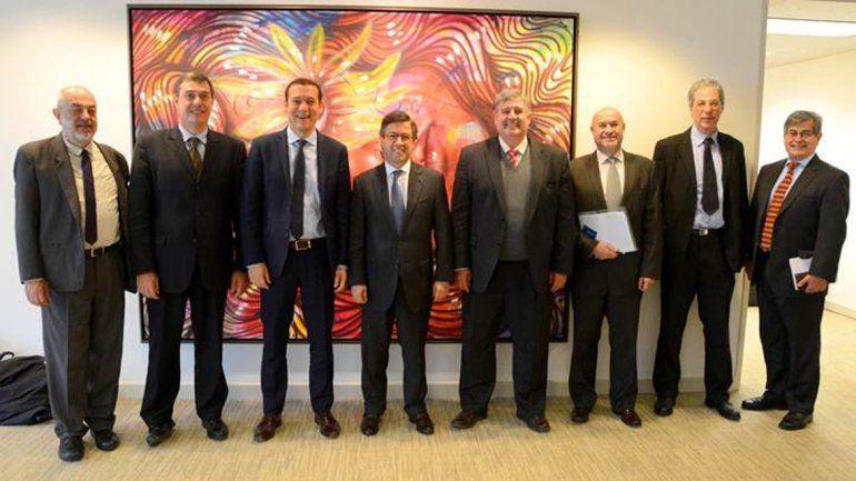 Gutiérrez se reunió con directivos del BID y el Banco Mundial