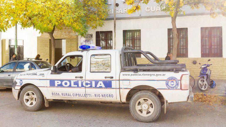 El procedimiento fue realizado por los bicipolicías de la Comisaría Cuarta.