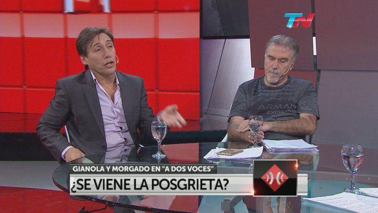 Gianola y Morgado estuvieron al frente de TVR desde 1999 hasta el 2004.