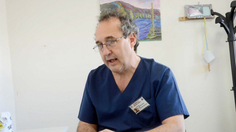 El agresor acusó a Osvaldo Neder (foto) por una mala praxis.