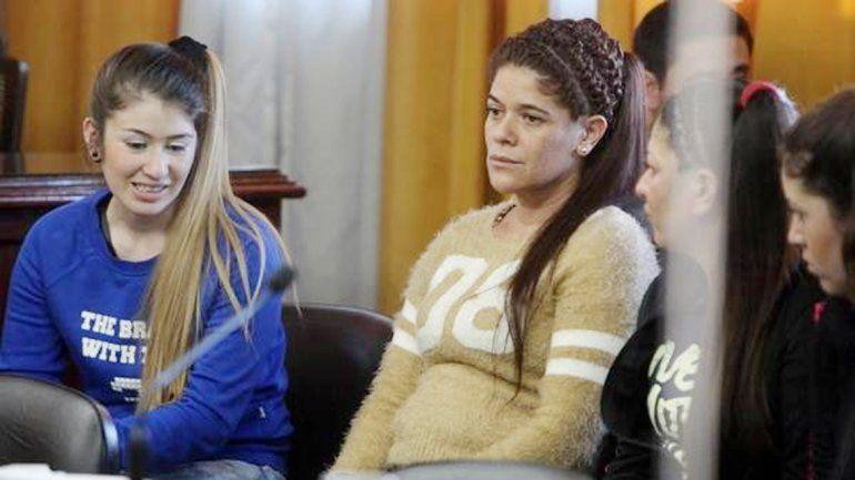 Yaqui Vargas al escuchar la condena a 15 años de cárcel.