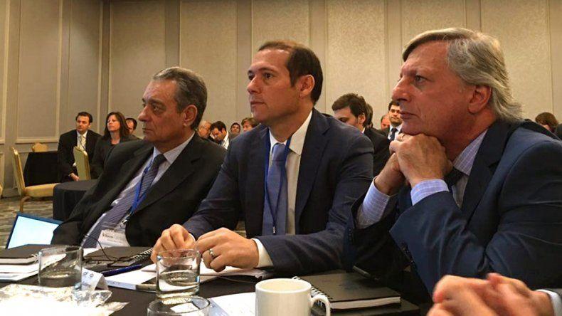 Gutiérrez expuso ante unos 270 empresarios en Houston.