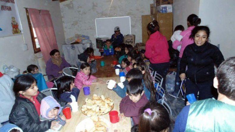 La Casita de Don Raúl atiende a decenas de chicos.