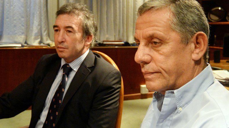 Quiroga junto al secretario de DDHH de la Nación