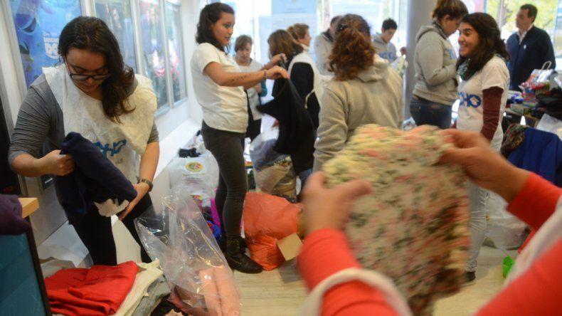 Gracias a la ayuda de los vecinos, la campaña de LU5 para La Casita de Don Raúl fue un verdadero éxito