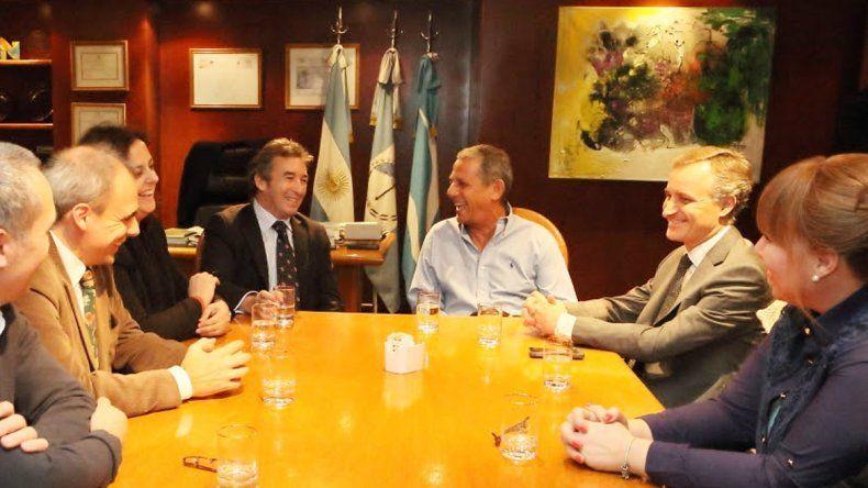 El intendente se reunió con el secretario de Justicia