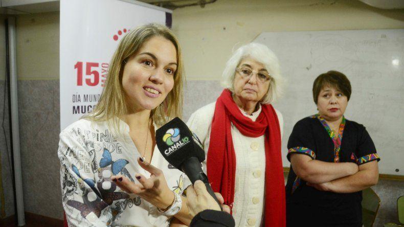 Especialistas del Garrahan disertaron en el Castro Rendón.